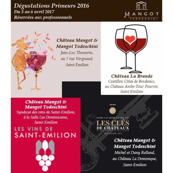 Primeurs 2016 de Château Mangot et Château La Brande, Let's Go !