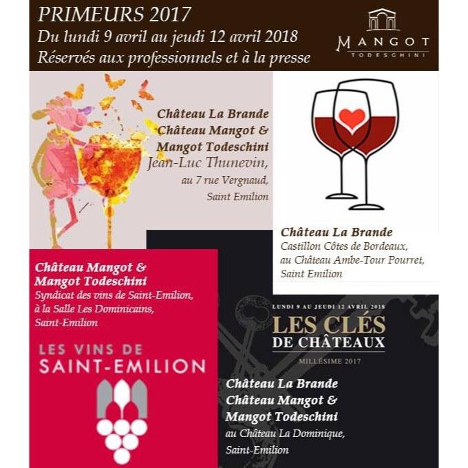 Les primeurs 2017 de Château Mangot !