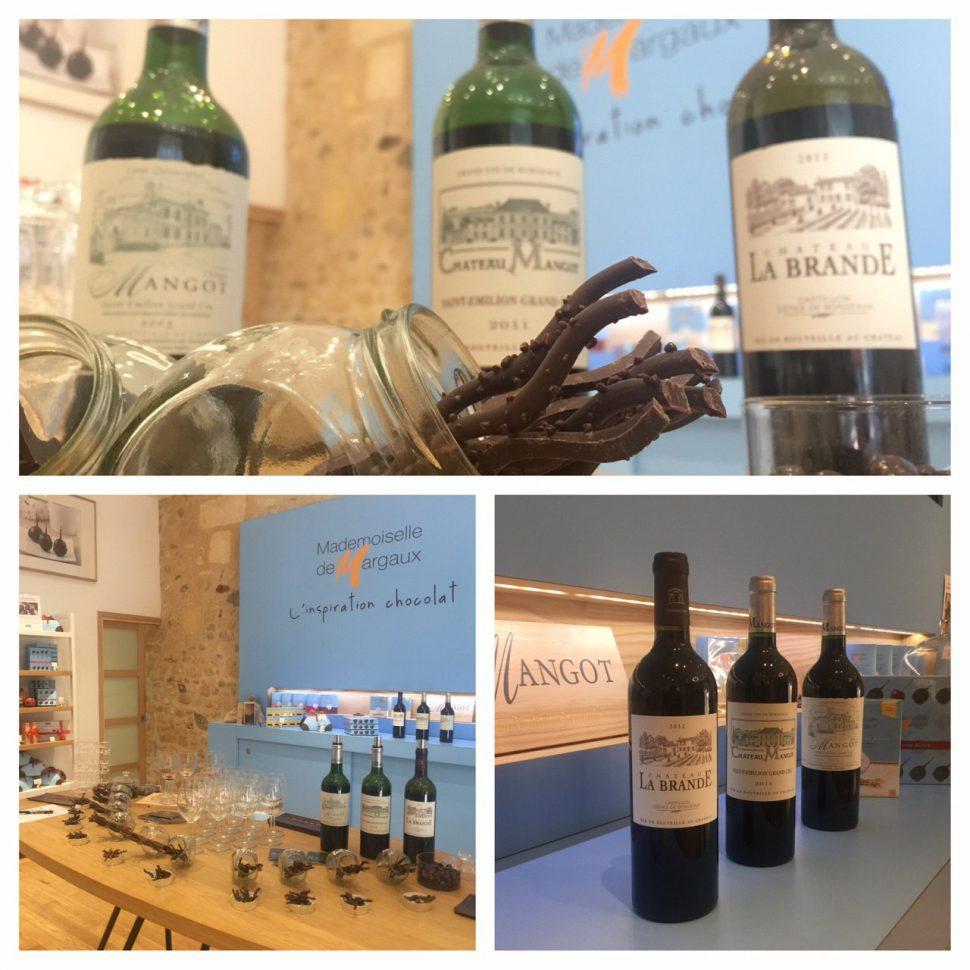 Les accords chocolat/vin par Château Mangot et Mademoiselle de Margaux, vous connaissez ?