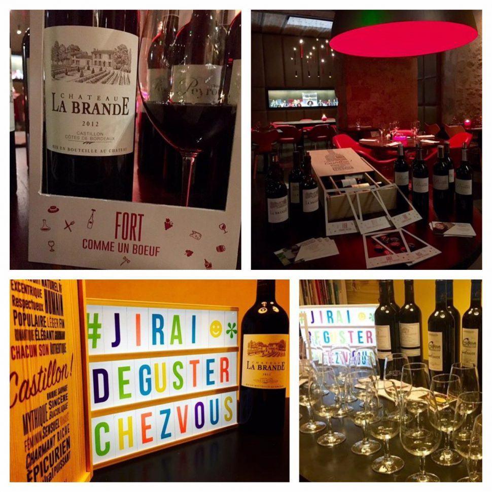 Château La Brande participe à «J'irai déguster chez vous » !