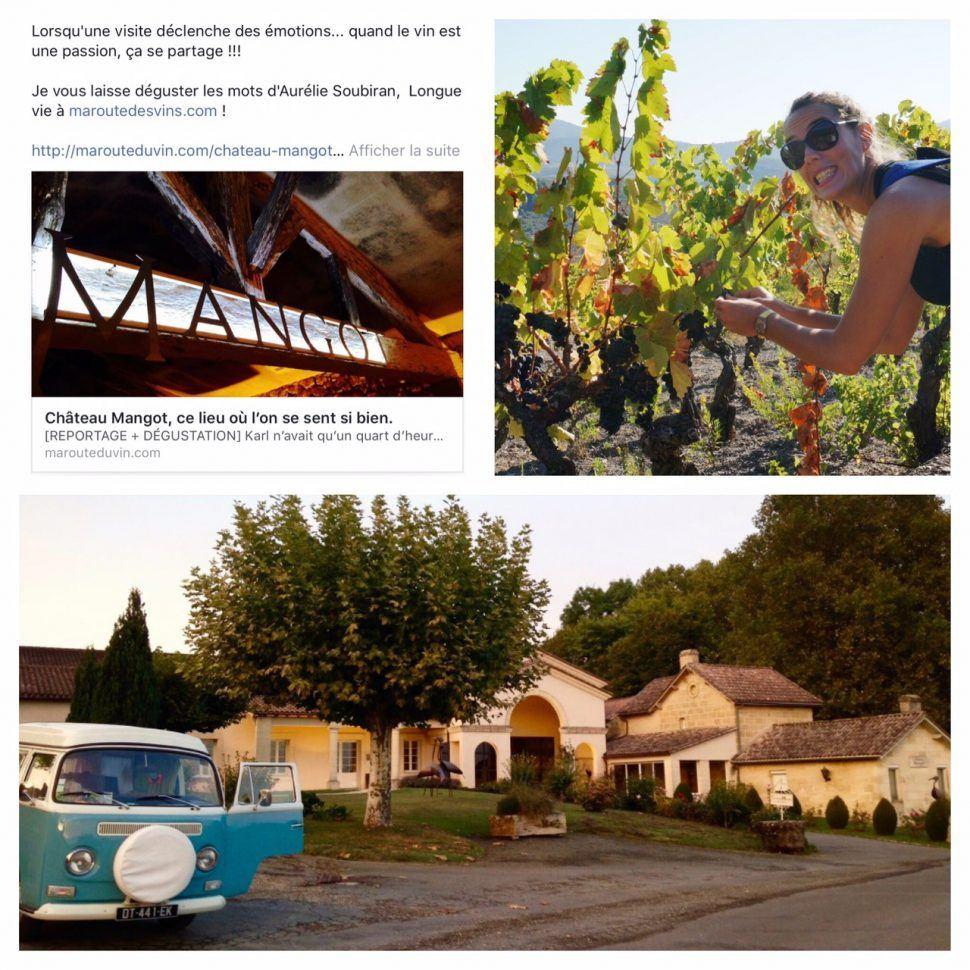 Château Mangot, rencontre avec marouteduvin.com !