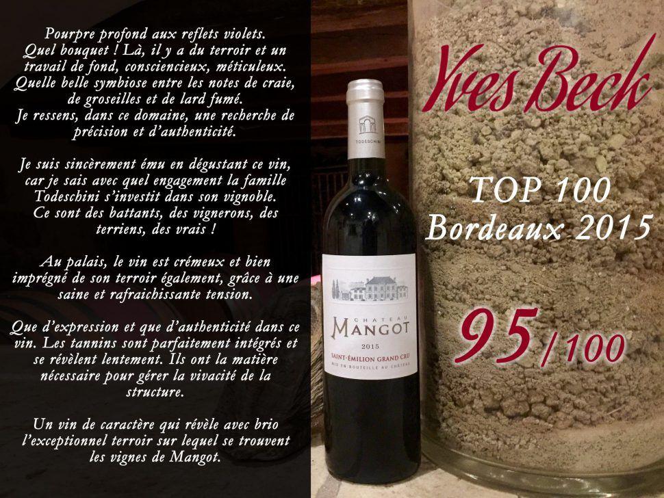 Château Mangot mis à l'honneur par Yves Beck !