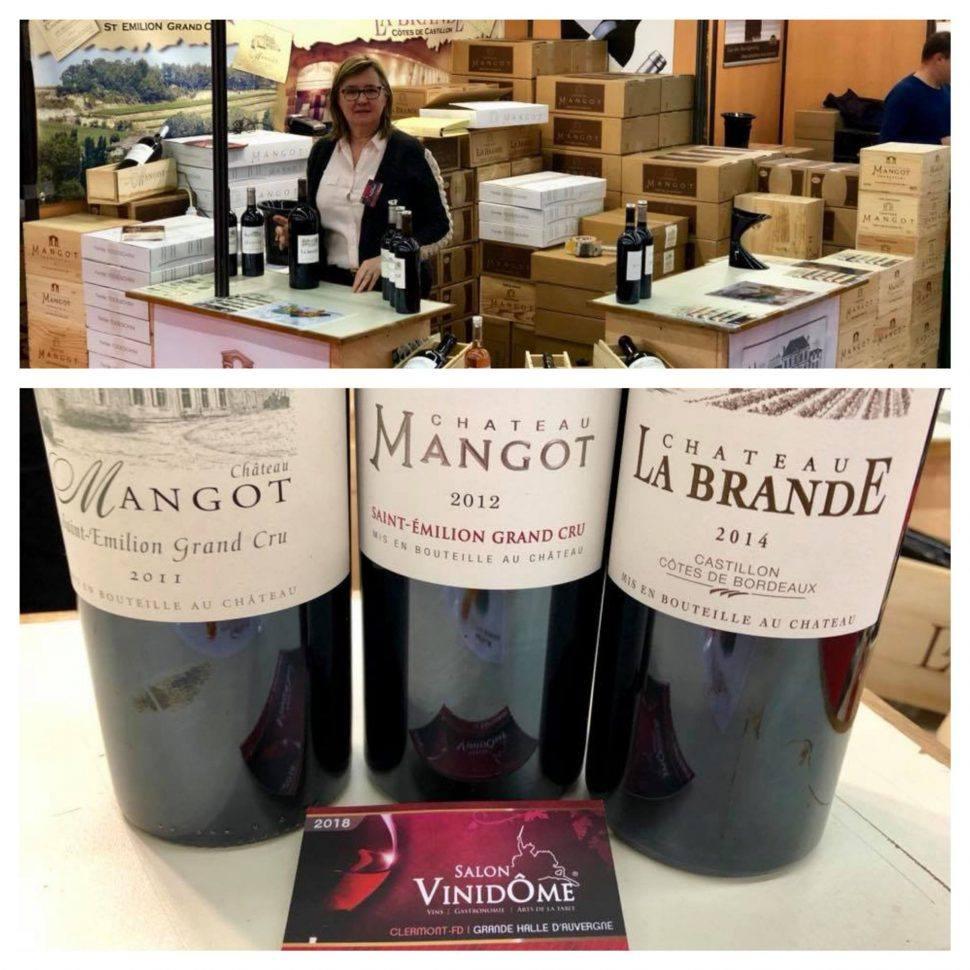 Château Mangot au Salon des Vignerons Indépendants de Vinidome !
