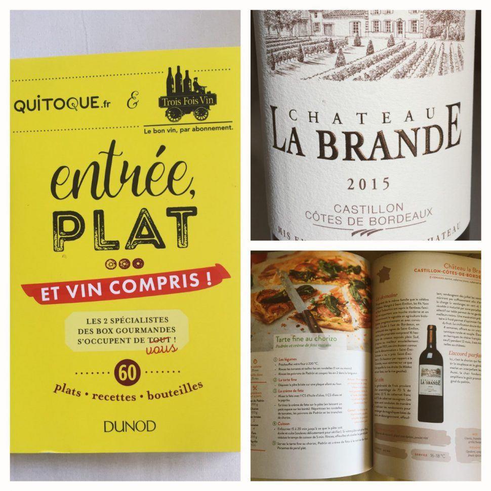 Château La Brande 2015 s'invite dans votre cuisine!