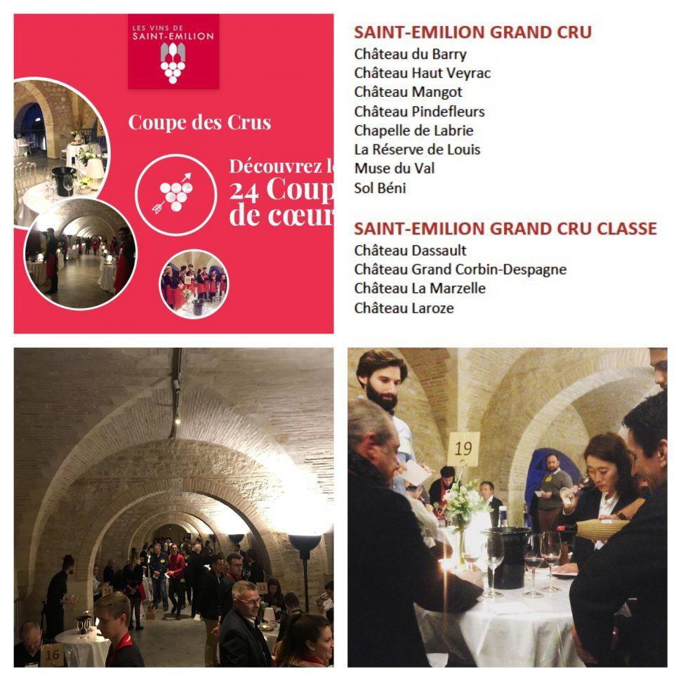 Pour la deuxième année consécutive, Château Mangot est lauréat de la Coupe des Grands Crus de Saint Emilion !