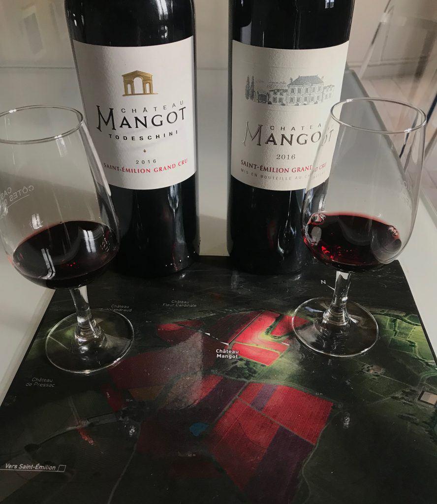Château Mangot noté par Vert de Vin sur les millésimes 2008 et 2016