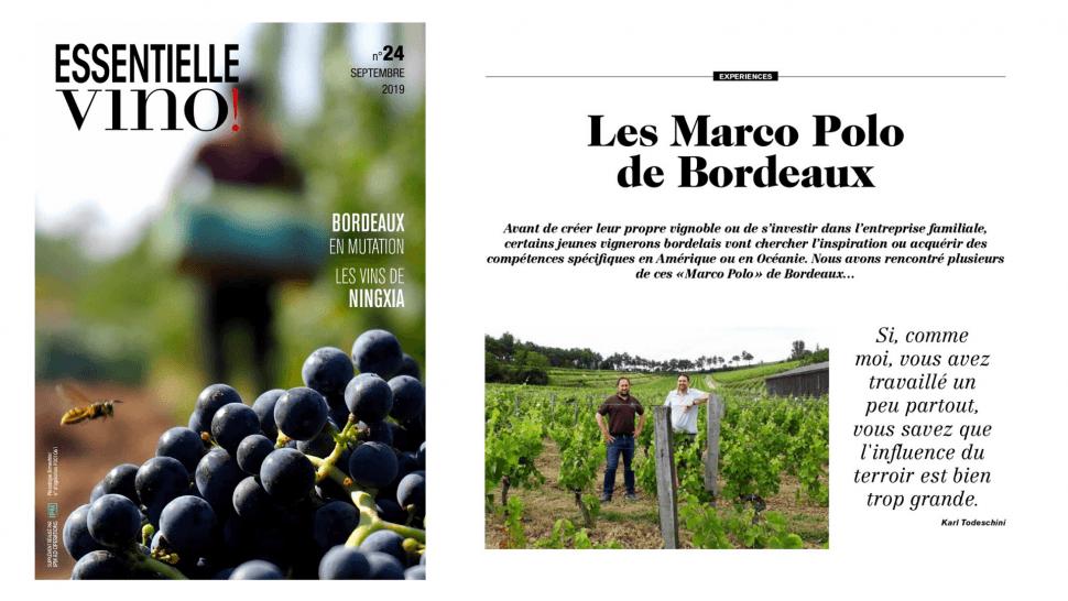 Les Marco Polo de Bordeaux !