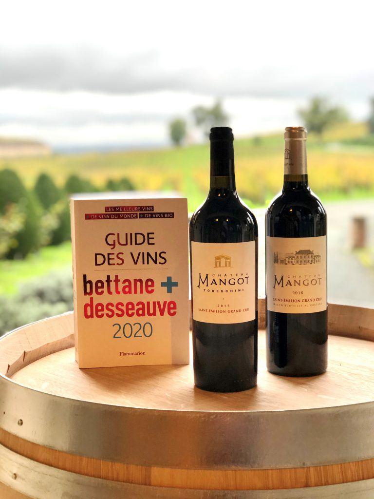 Le Guide Bettane & Desseauve nous fait le plaisir de déguster nos cuvées 2016 et 2018 !