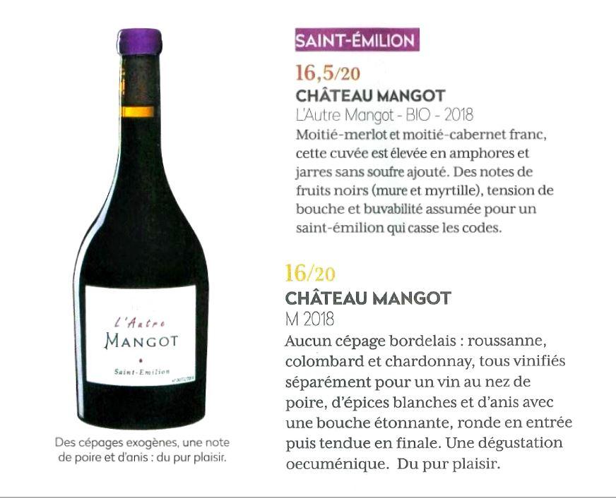 L'Autre Mangot dans la Revue du vin de France