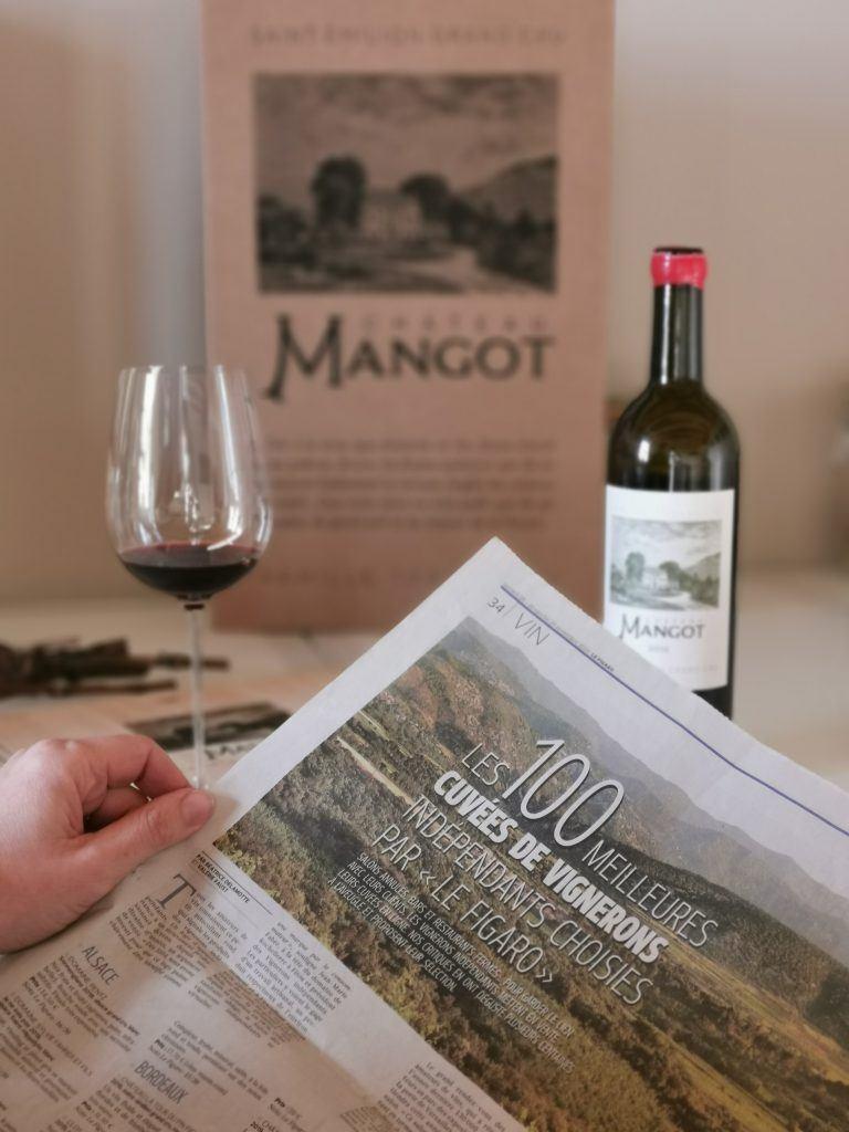 Château Mangot 2016 sélectionné par Le Figaro