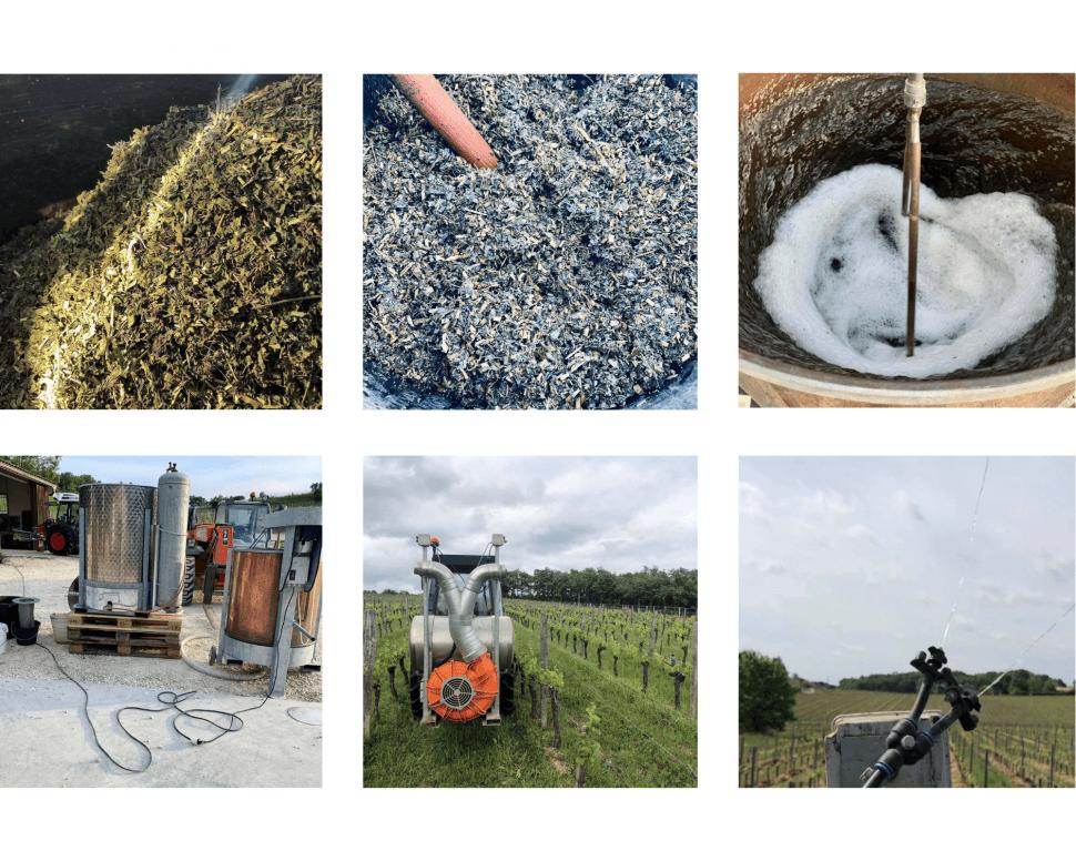 Préparations en biodynamie à Mangot