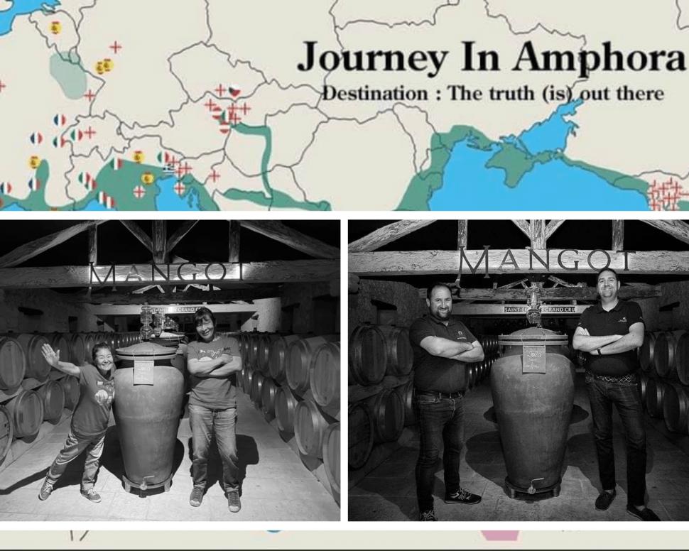Voyage dans les amphores de Mangot 🏺